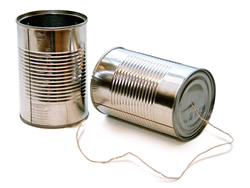 Tin-Can telephone